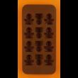 Szilikon csoki öntő forma smile figurák 12 darabos
