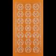 Polikarbonát csoki öntő forma nyíló tulipán 21 darabos