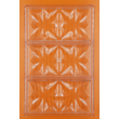 Polikarbonát csoki öntő forma táblás csoki csillag 3 darabos