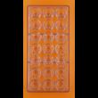 Polikarbonát csoki öntő patkó forma 21 darabos