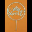 Sweet arany beszúrható dísz
