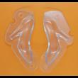 3D női cipő kicsi polikarbonát csoki öntőforma