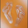 3D női cipő polikarbonát csoki öntőforma