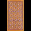 Polikarbonát csoki öntő forma barackmag 21 darabos