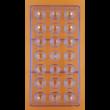 Polikarbonát csoki öntő forma gyémánt 21 darabos