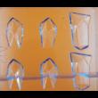 Polikarbonát csoki öntő forma kristály 15 darabos