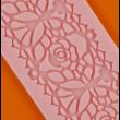 Cukorcsipke sablon rózsák