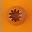 Csillag díszítőcső 12mm