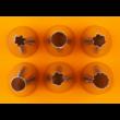 Díszítőcső szett habzsákkal 8 darabos