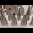 Díszítőcső szett 55 darabos
