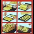 Linzer keksz karácsonyi kiszúró lap