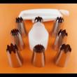 Díszítőcső szett 11 darabos