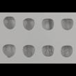 Gesztenye 30 darabos szilikon mousse sütőforma