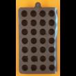 Szilikon csoki öntő forma smile 28 darabos