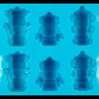 Szilikon csoki öntő forma robotok 12 darabos