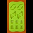 Szilikon csoki öntő forma női holmik 14 darabos