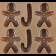 Szilikon csoki öntő forma mézi 12 darabos