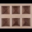 Szilikon csoki öntő forma boríték 15 darabos