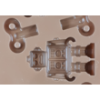 Szilikon csoki öntő forma felhúzós robot 6 darabos