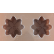 Szilikon csoki öntő forma virágok 8 darabos