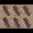 Szilikon csoki öntő forma szaloncukor forma 15 darabos
