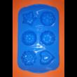 Hat darabos vegyes formák szilikon sütőforma