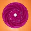 Kuglóf forma 24-cm szilikon sütőforma