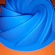 Kuglóf forma 23-cm szilikon sütőforma