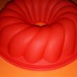 Kuglóf forma 25-cm szilikon sütőforma