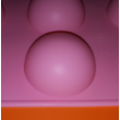 Félgömb nagy 6 darabos szilikon sütőforma