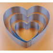 Tortaforma szett szív