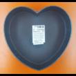 Kapcsos piros szív tortaforma 25cm