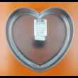 Kapcsos szív tortaforma