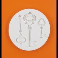 Szilikon forma kulcsok