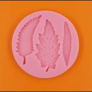 Szilikon forma őszi levelek