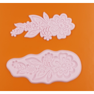 Szilikon forma virág csokor