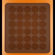 Macaron sütőlap 30dbos