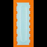 Torta oldal simító mintázó kétoldalas habkártya 3