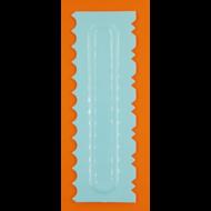 Torta oldal simító mintázó kétoldalas habkártya 4