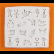 Szilikon forma baba kellékek
