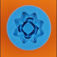 Szilikon forma lótusz virág
