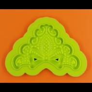 Szilikon forma csipkés masni