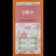 Polikarbonát csoki öntő forma rúd 18 darabos