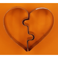 Dupla szív kiszúró szett