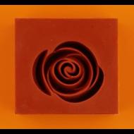 Szilikon forma  rózsa nagy