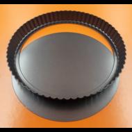 Pite forma fekete 26cm