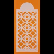 Stencil csík arab