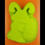 Szilikon sütő forma húsvéti nyuszi tojással zöld