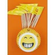 Muffin papír smile 24+24 darabos