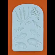 Szilikon forma tengeri élővilág